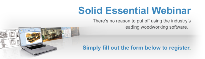 Get started today with the Cabinet Vision Solid Essential